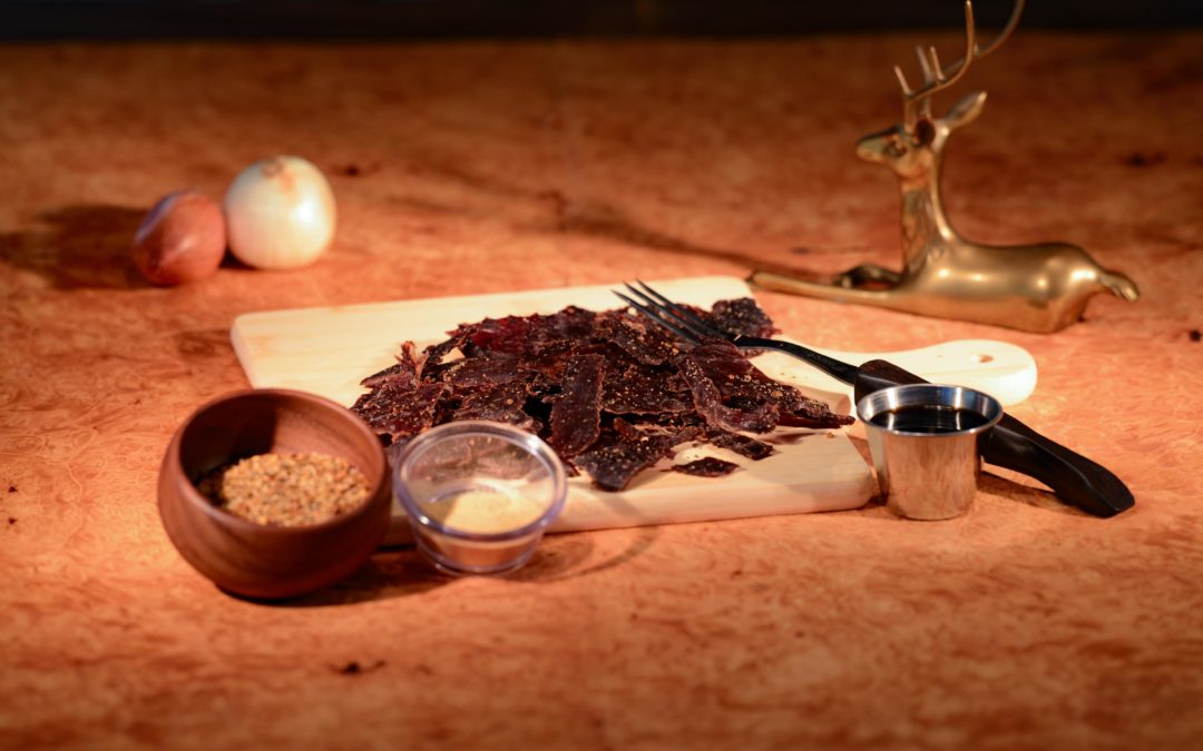 product photo of venison jerky
